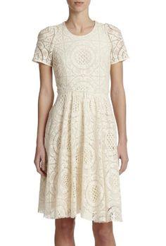 velma lace dress / burberry london