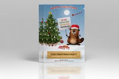 Christmas party Invitation Template  Holiday by TemplateStock