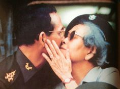 The King and his mother. King of Thailand. My beloved King, ♥Bhumibol Adulyadej…