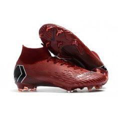 Nike Mercurial Superfly 6 Elite FG Zapatillas de Fútbol - Carmesí Negro 1b70b89f4ff78