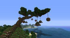 Tree Village Minecraft Project