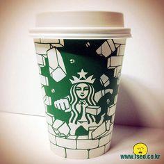 Détournements de la sirène Starbucks   detournements de la sirene starbucks gobelet 10