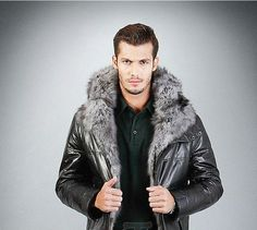 Leather#fur#men