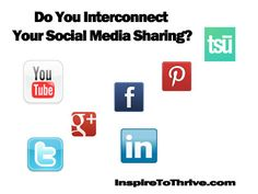 Interconnecting Your Social Media Accounts - Good or Bad? #socialmedia