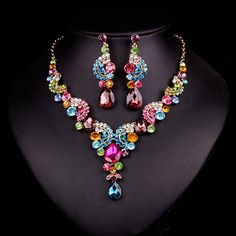 Rihanna Terri Jewelry Set from Gardner's Women's Store...lots of sparklies