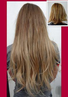 Mega Hair Antes e Depois - Cuiabá e Várzea Grande