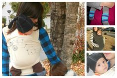 5 good tips for babywearing during the winter months