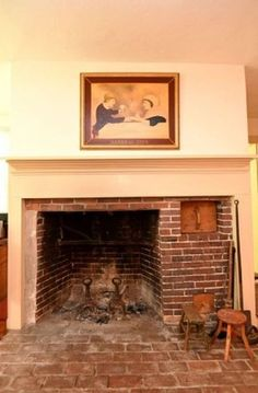 Fireplaces Bricks And Clay On Pinterest