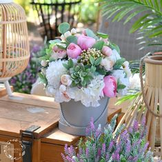 Flowerbox z kwiatów sztucznych. Flower Boxes, Flowers, Tea Party, Beautiful Pictures, Table Decorations, Home Decor, Window Boxes, Homemade Home Decor, Pretty Pictures