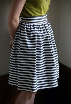 """""""DIY skirt patterns"""" (Some nice ideas here.)"""