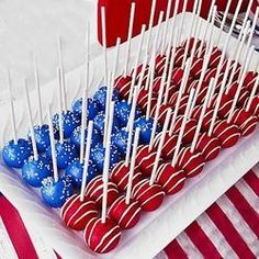 4th of july recipes red white and blue | 4th of July - Red, White and Blue Recipes! / Patriotic pops by Sucree
