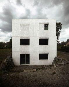 Wohnhaus aus Dämmbeton von HDPF