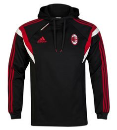 ac milan training hoody black AC Milan Official Merchandise Available at www.itsmatchday.com