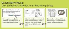 Noch Ein Personalmarketing Blog: Candidate Experience Praxis - One-Click-Bewerbung für KMUs *Freu* OneClickBewerbung im Interview bei Tim
