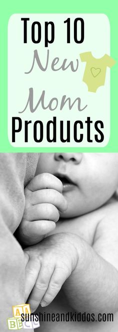 Great products new moms need!