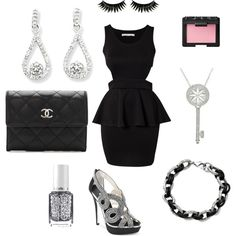 """#LBD #OOTD"" by IceCarats on Polyvore #IceCarats"