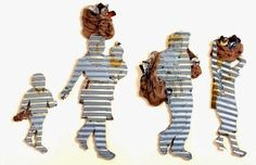 "(Illustration: Abdulrahman Katanani)Art Inspired by Palestine ""Qatanani"" (b. in Sabra and Shatila refugee camp, Beirut) Refugee Week, Art Alevel, Political Events, Political Art, Social Art, New Museum, A Level Art, Gcse Art, Installation Art"