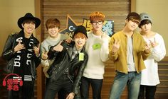 BTS ( w/out RM) on Idol True Colors