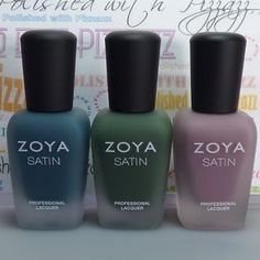 """I have swatches and a review of the @zoyanailpolish NYFW Satins Trio on my blog today. I'm also super excited to share that I got a set to #giveaway!…"""