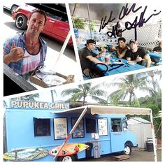 Credit: Pupukea Grill on IG (9/20/15)  What does our favorite Hawaii 5-0'er get when he visits us? #alexoloughlin #pupukeagrill