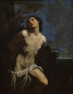 Saint Sebastian by Guido Reni, circa 1625