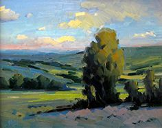 Extensive notes on plein air painting concepts and techniques for the advanced artist Landscape Artwork, Abstract Landscape, Abstract Art, Impressionist Paintings, Art Paintings, Impressionism, Illustrations, Plein Air, Beautiful Paintings