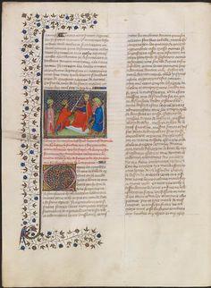 De kroniek van Froissart beschrijft grofweg de eerste helft van de Honderdjarige Oorlog, te beginnen met de kroning van Edward III in Londen in 1326. Froissart baseerde zich op een eerdere kroniek van Jehan le Bel over het begin van de oorlog.
