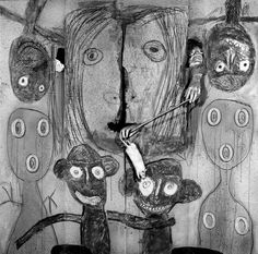 National Museum of African Art | Lines, Marks, and Drawings: Through the Lens of Roger Ballen | The Hand