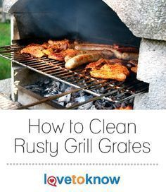 If you leave your barbecue outdoors, you may soon need to know how to clean rusty grill grates. Keeping grill grates rust free can be a challenge due to the exposure your grill receives outdoors. Clean Grill Grates, Bbq Grates, Grilling Tips, Grilling Recipes, How To Clean Bbq, Homemade Bbq, Bbq Tools, Rust Free, Barbecue Recipes