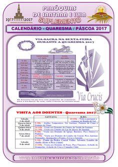 Paróquias de Santana e Ilha: Calendário - Quaresma / Páscoa 2017