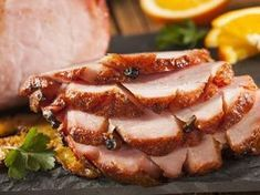 Slow cooking a ham will produce the best results and it eliminates the risk of the meat drying out. The ham will stay moist and succulent, soaking up the rich flavors of the glaze. Crock Pot Recipes, Ham Recipes, Cooking Recipes, Kraft Recipes, Easter Recipes, Slow Cooking, Cooking Ham In Oven, Honey Baked Ham Recipe, Maple Glazed Ham