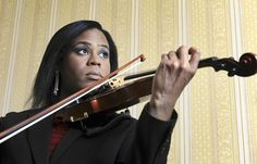 Tona Brown, violinist and music teacher in Baltimore. She will be the first classical musician featured on the annual Out Music Awards, May 23rd in New York. One of her current projects includes a recording and a memoir.