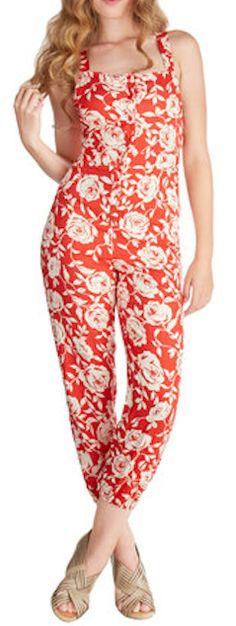 cute #red floral jumpsuit http://rstyle.me/n/mbqbzr9te