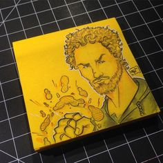 The #ironfist himself Danny Rand on a bright yellow 3x3 @postit note. Rendered out with @copicmarker products! artofplo.storenvy.com #ARTOFPLO #Larios #artist #drawing #marvel #illustration #handdrawn #illustrator #amazing #copic #nice #spring  #supportlocalartists #localartist #fountainvalley #theOC #orangecounty #instacool #myart #fanart  #comicbook #repost #socal #Art #instatalent #igdaily #instadaily #artistsoninstagram #netflix