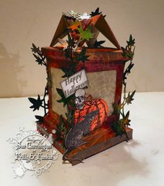 Stamping Sue Style: Time to get spooky ! using Tim Holtz, Ranger, Sizzix and Stamper's Anonymous; Oct 2014
