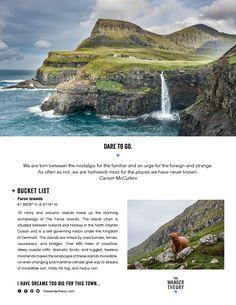 BUCKET LIST + FAROE ISLANDS ... Free Printable! www.thewandertheory.com