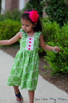 Sew Like My Mom | Mystery Ruffle Fabric Challenge for See Kate Sew