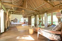 Romantic jungle house