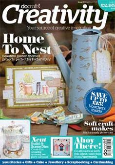 May June Issue 39 Do Crafts Crafting Magazine  in Stock, including Free mini Notelets