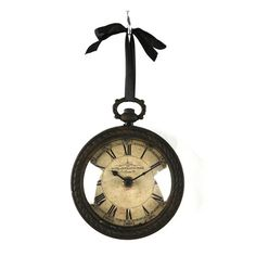 Found it at Wayfair - Iron Clock
