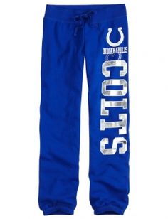 k-Indianapolis Colts Fleece Cuff Sweatpant