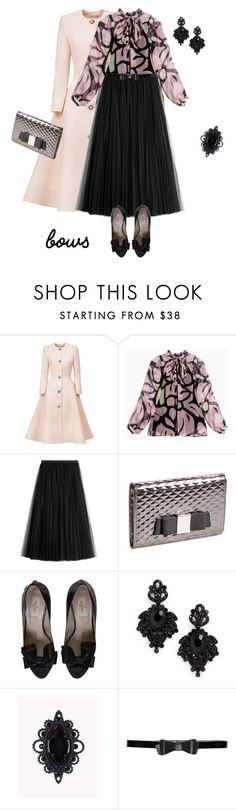 """outfit 5309"" by natalyag ❤ liked on Polyvore featuring Esme Vie, Max&Co., Valentino, Ivanka Trump, Tasha, Dsquared2 and Alice + Olivia"