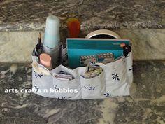 arts crafts n hobbies: Instant bag organizer Tutorial
