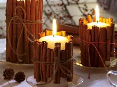 Тепло и уют: свечи в интерьере   Интерьер и Дизайн