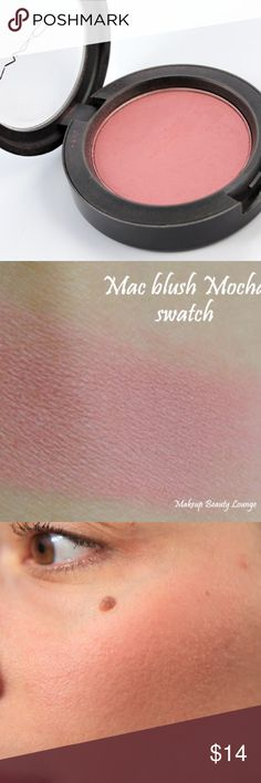 MAC BLUSH IN COLOR MOCHA MAC blush in color mocha. Product has been tested. MAC Cosmetics Makeup Blush