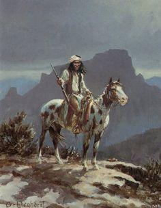 Native American Paintings, Native American History, Indian Paintings, Native American Indians, American Artists, Apache Indian, Native Indian, Dennis, Geronimo