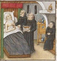 The Hague, KB, 133 A 1 fol. 140r Chapter 64 The death of St. Palaemon -
