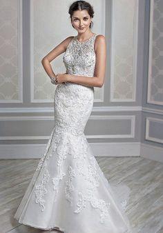 Kenneth Winston 1612 Mermaid Wedding Dress