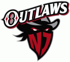 New Jersey Outlaws Primary Logo on Chris Creamer s Sports Logos Page -  SportsLogos. A virtual museum of sports logos cd323a89a