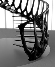 Vertebrae Staircase / Andrew McConnell – The Fab Web